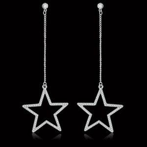 Jewelry - Dangle Star Earrings